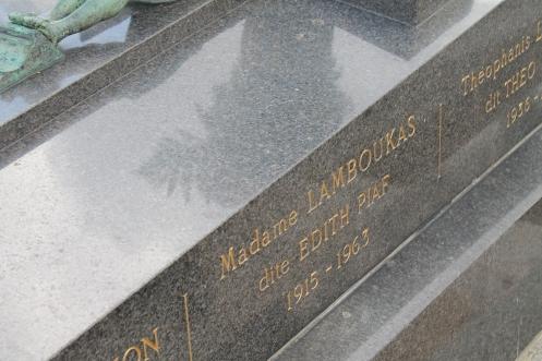 Edith Piaf's memorial